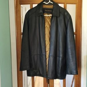 Marc New York Andrew Marc Leather 3/4 jacket